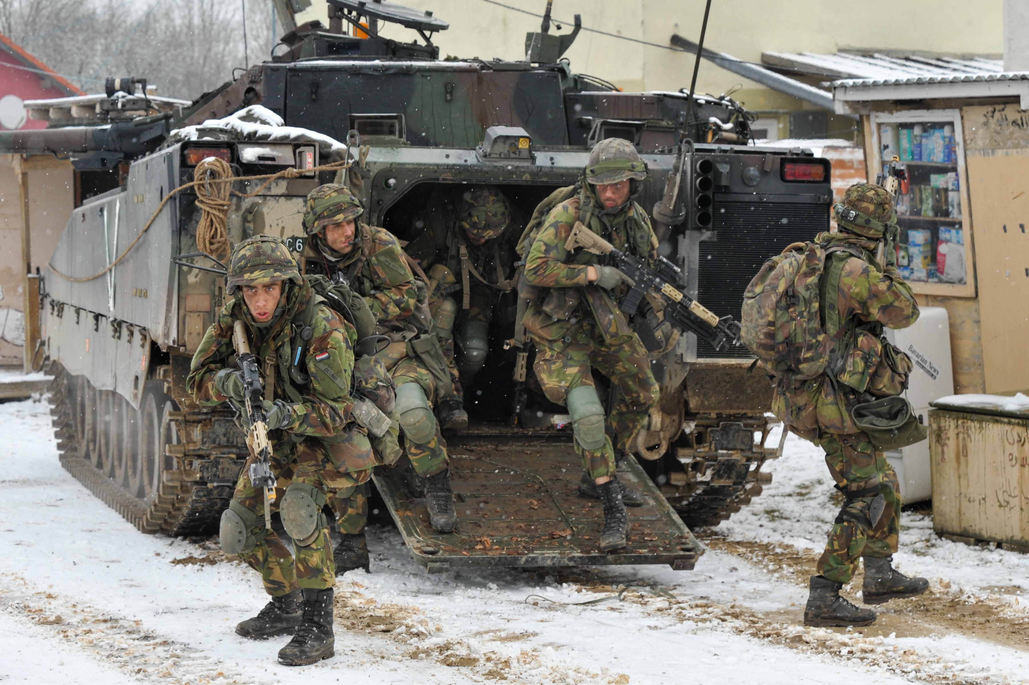 Het Nederlandse leger Image